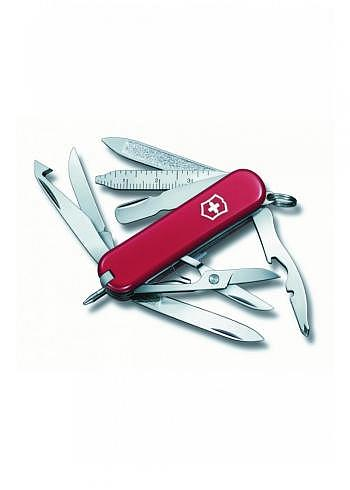 0.6385, Victorinox, Mini Champ, Red, 58mm