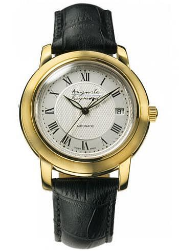 M-49B097-56, Auguste Reymond, Ragtime Automatic, Gents, PVD, Leather Strap