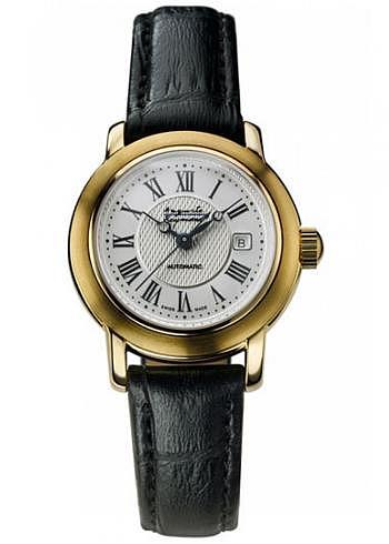 M-44B007-56, Auguste Reymond, Ragtime Automatic, Ladies, PVD, Leather Strap