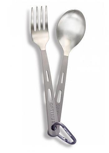 8016287, Optimus, Titanium 2-Piece Cutlery Set
