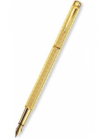 "958.208, Fountain Pen, Collection Ecridor, ""Chevron"", gold"