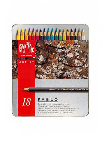 "666.318, 18 water resistant pencils ""Pablo"""