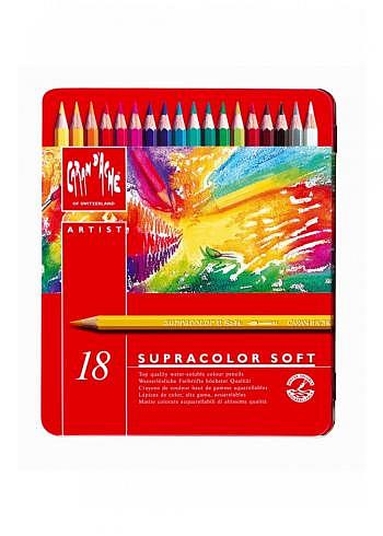 "3888.318, 18 water soluble pencils ""Supracolor"""