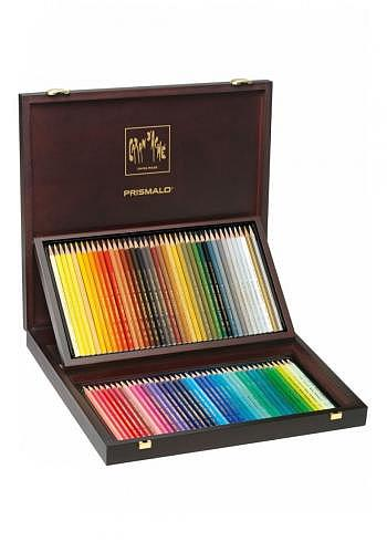 "999.480, Caran d'Ache, 80 watercolor pencils ""Prismalo"", wood box"