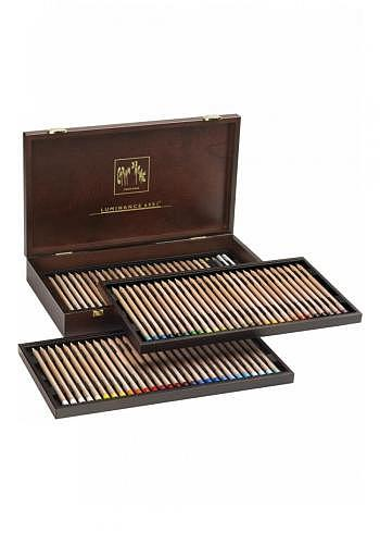 "6901.476, Caran d'Ache, 84 pencils ""Luminance 6901"", wood box"