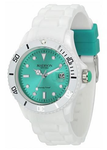 U4359D1, Candy Time, White Fashion, Green