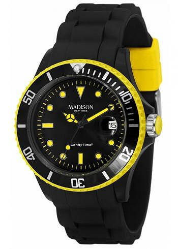 U4485-41, Candy Time, Black Line, Yellow