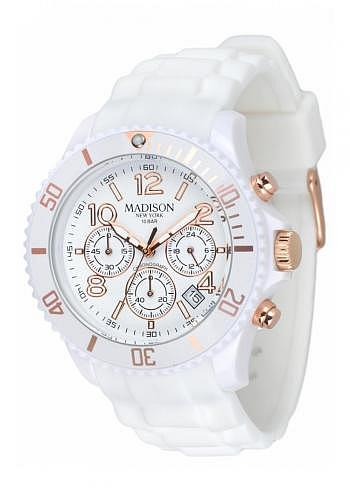 U4362/3, Candy Time, Chrono, White/Gold