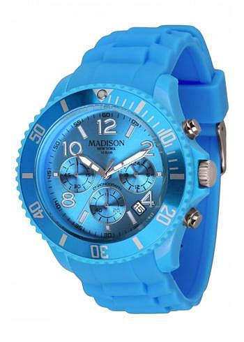 U4362-06, Candy Time, Chrono, Blue
