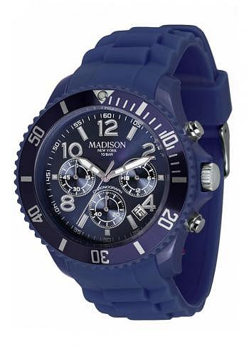 U4362-07, Candy Time, Chrono, Navy Blue