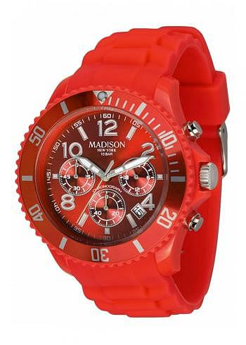U4362-11, Candy Time, Chrono, Coral Red