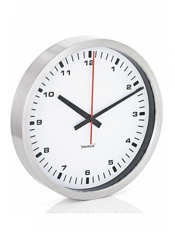 6957633, Blomus, Wall Clock 400mm, White