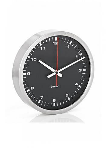 6957658, Blomus, Wall Clock 300mm, Black