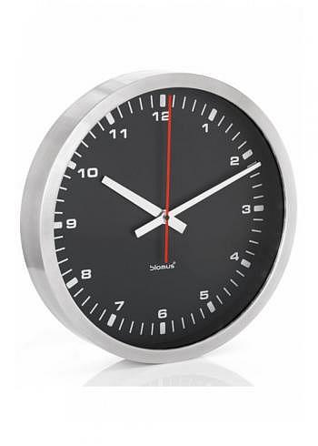 6957666, Blomus, Wall Clock 400mm, Black