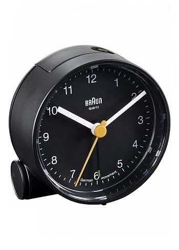 BNC001, Braun, Alarm Clock, Black