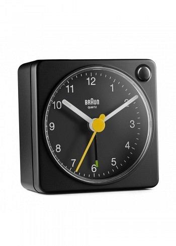 BNC002, Braun, Alarm Clock, Black