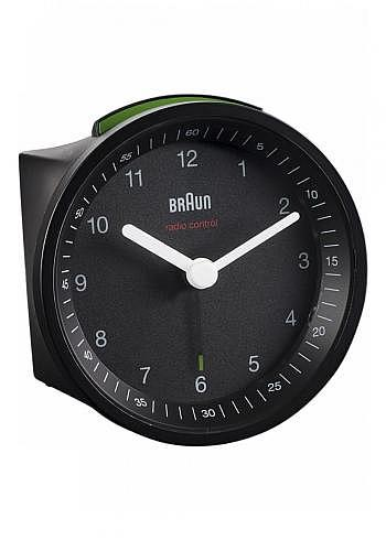 BNC007, Braun, Alarm Clock with Radio Control, Black
