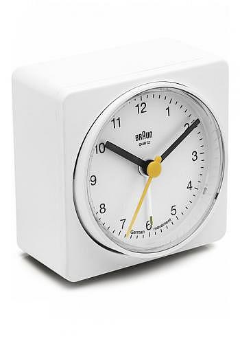 BNC011, Braun, Alarm Clock, White