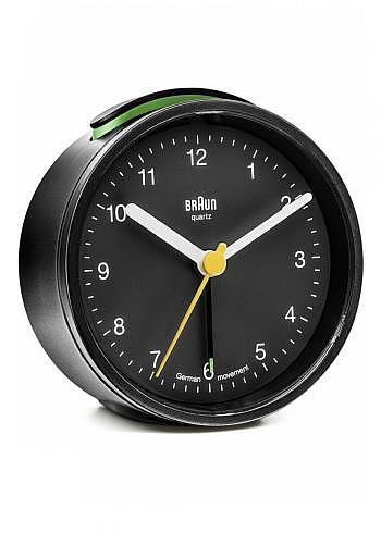BNC012, Braun, Alarm Clock, Black