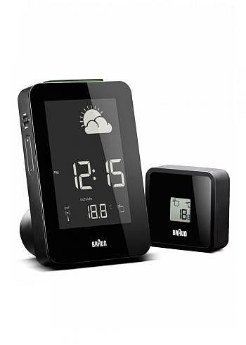 BNC013, Braun, Digital Weather Station with Radio Control, Black