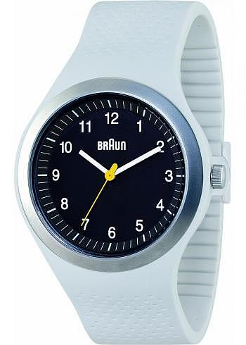 BN0111, Braun, Sport 46mm, Black Dial, Light Grey Case