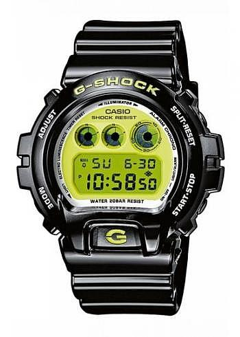 DW-6900CS-1ER, Casio, G-Shock, Digital, Black/Yellow