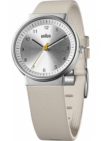 BN0031, Braun, Classic 33mm, Ladies, Silver Dial, Leather Strap Beige