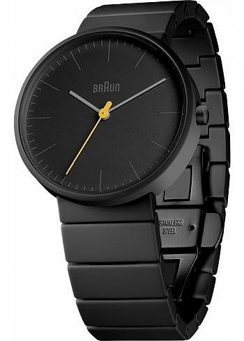 BN0171, Braun, Classic Full Ceramic 39mm, Black Dial, Ceramic Bracelet