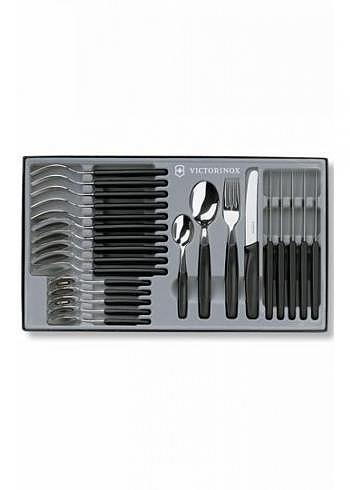 5.1333.24, Victorinox, Tableware, 24 Pieces, Black