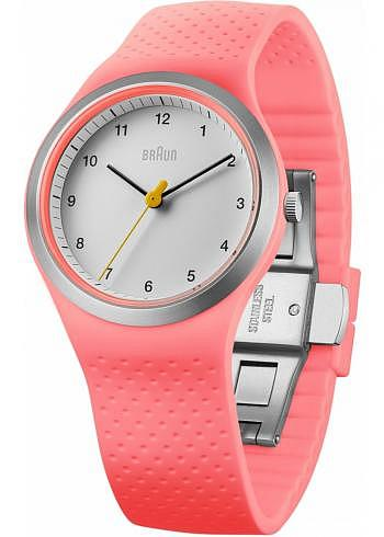BN0111, Braun, Sport 36mm, Lady, White Dial, Pink Case