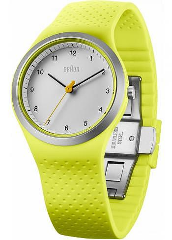 BN0111, Braun, Sport 36mm, Lady, White Dial, Yellow Case