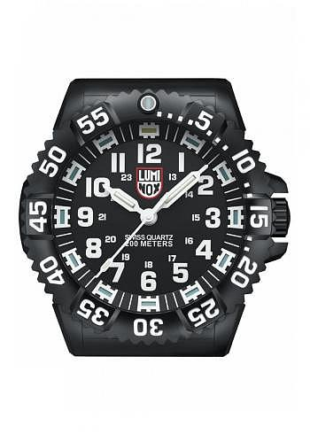 XL.BIG.40, Luminox, Wall Clock 400mm, Illuminated Hands and Index