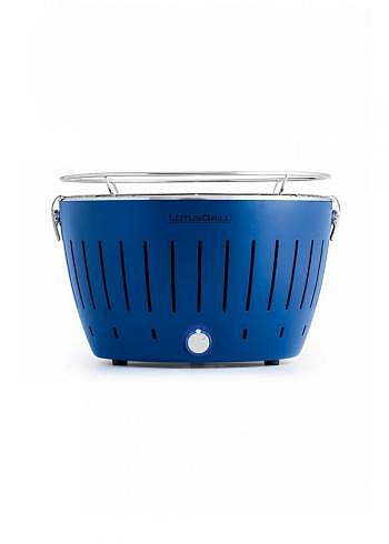 9208877, Lotus, Charcoal Barbecue 34cm, Blue