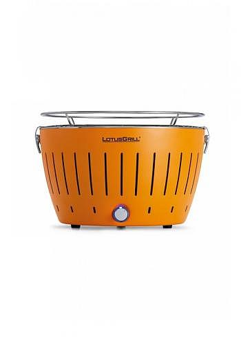 9208224, Lotus, Charcoal Barbecue 34cm, Orange