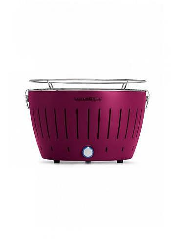 9208232, Lotus, Charcoal Barbecue 34cm, Plum