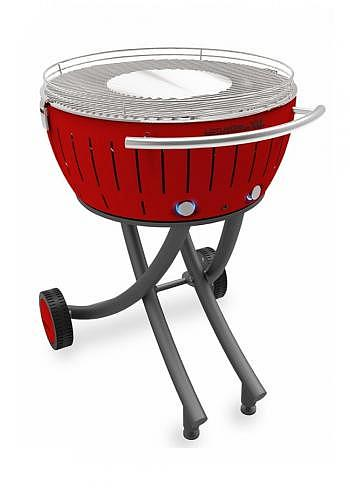 9209503, Lotus XXL, Charcoal Barbecue 58cm, Red