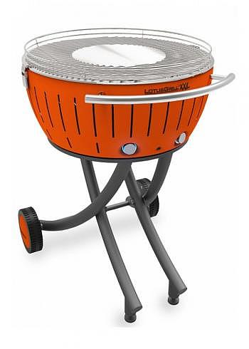 9209537, Lotus XXL, Charcoal Barbecue 58cm, Orange