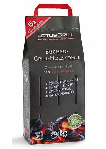 9208588, Lotus Grill, Beech Charcoal, 2.5Kg
