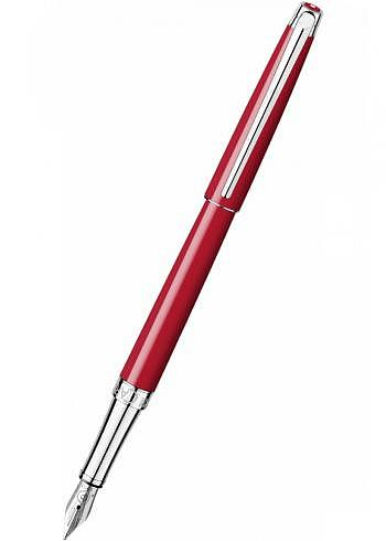 4791.770, Fountain Pen, Collection Leman Slim, Scarlet