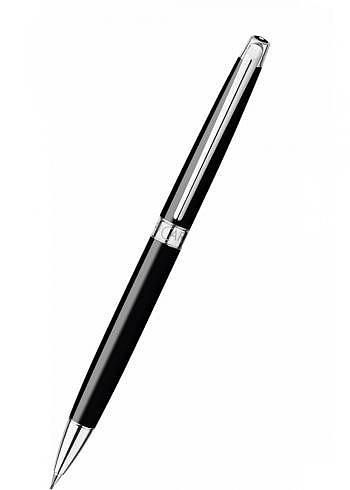 4761.782, Mechanical Pencil, Collection Leman Slim, Ebony Black