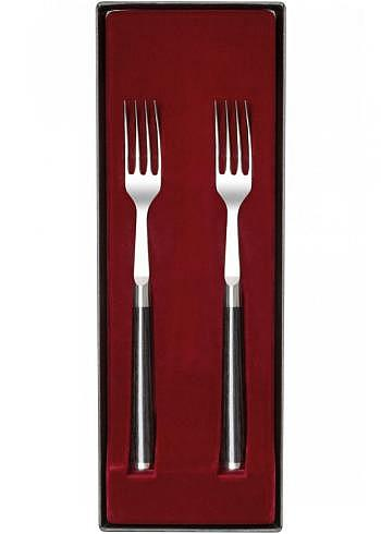 DMS-990, KAI SHUN, Damask Steel 32 Layers, Fork Set