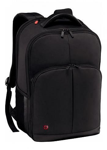 601072, Wenger, Business Backpack, Link Black, 21 Liter