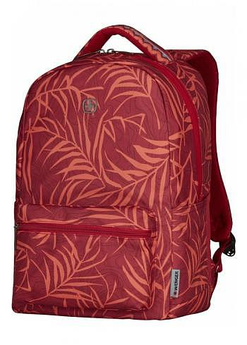 606468, Wenger, School & Travel Backpack, Colleague Red Fern, 22 Liter