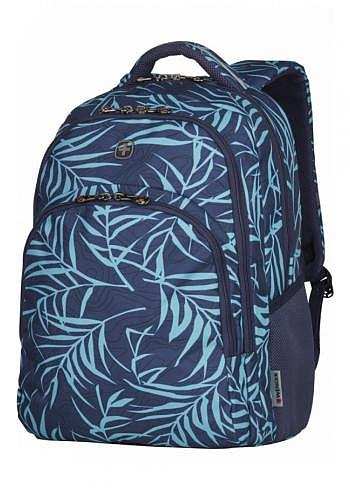 606474, Wenger, School & Travel Backpack, Upload Navy Fern, 28 Liter