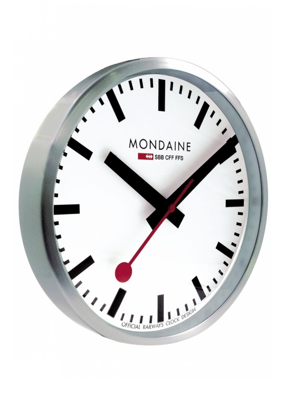 A995 Clock 16sbb Mondaine Wall Clock 400mm Official