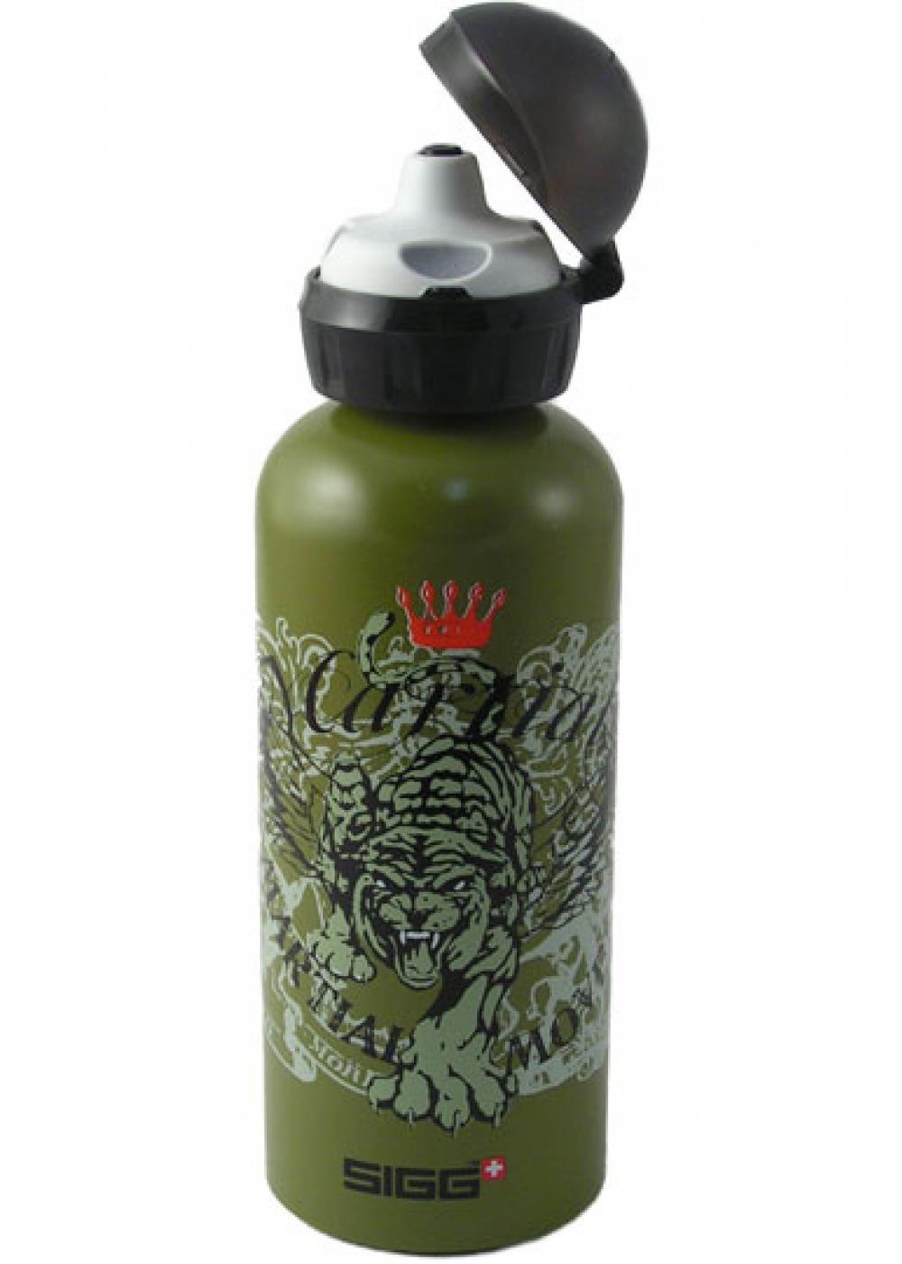 sigg junior tiger king 0 6 liter sigg kinder flaschen loosli swiss memories. Black Bedroom Furniture Sets. Home Design Ideas