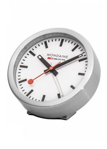 A997.MCAL.16SBB, Mondaine, Desktop Clock 125mm, Alarm