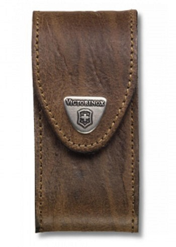 Victorinox, Belt Pouch Wide, Brown