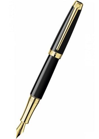 4799.282, Fountain Pen, Collection Leman, black / gold