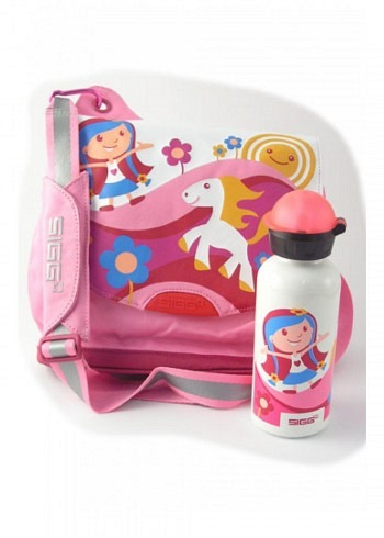 "SIGG, Kids Set, ""Fairy Tale"", Red"